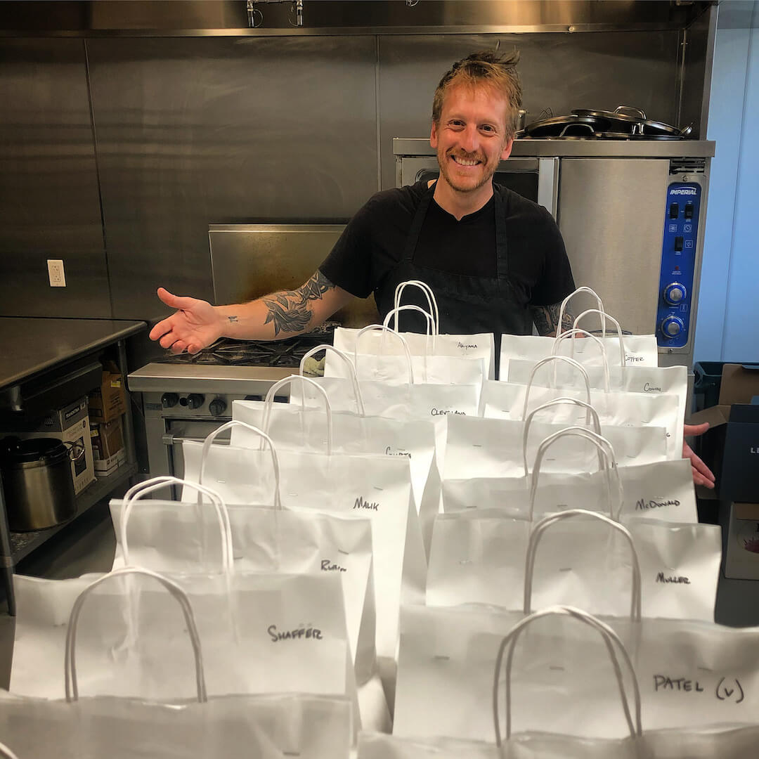 Chef Aram and meal packages