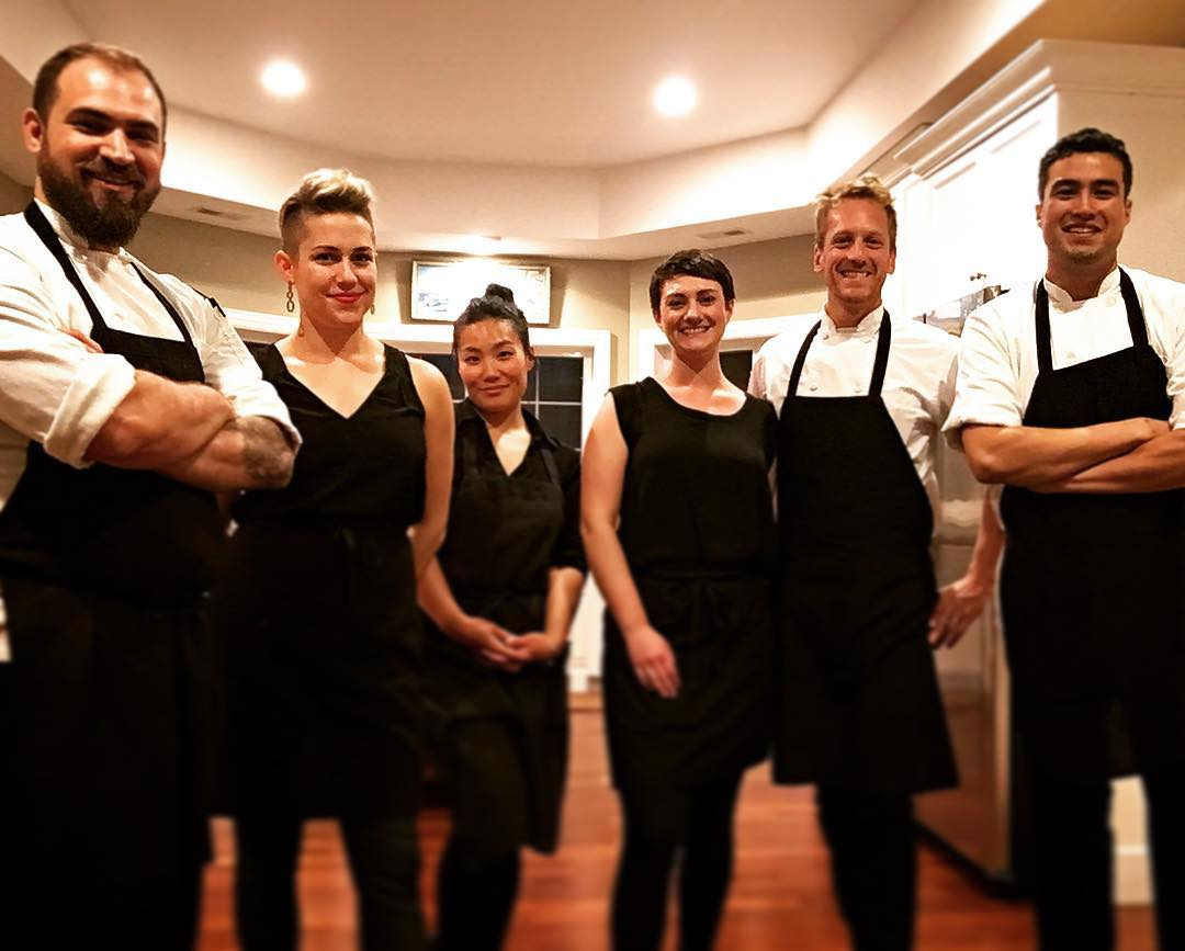 chef aram reed and his chicago team