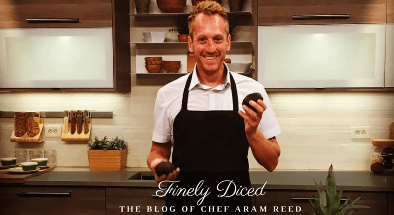 blog cover photo of Chef Aram Reed