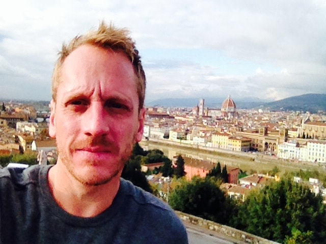 chef aram reed in italy