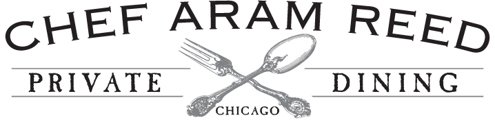 chef aram reed's banner logo